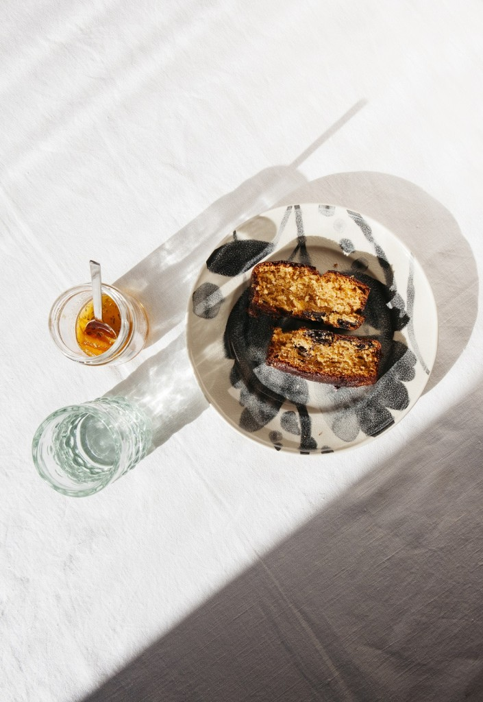 Prune, Orange, Fennel Cake Recipe