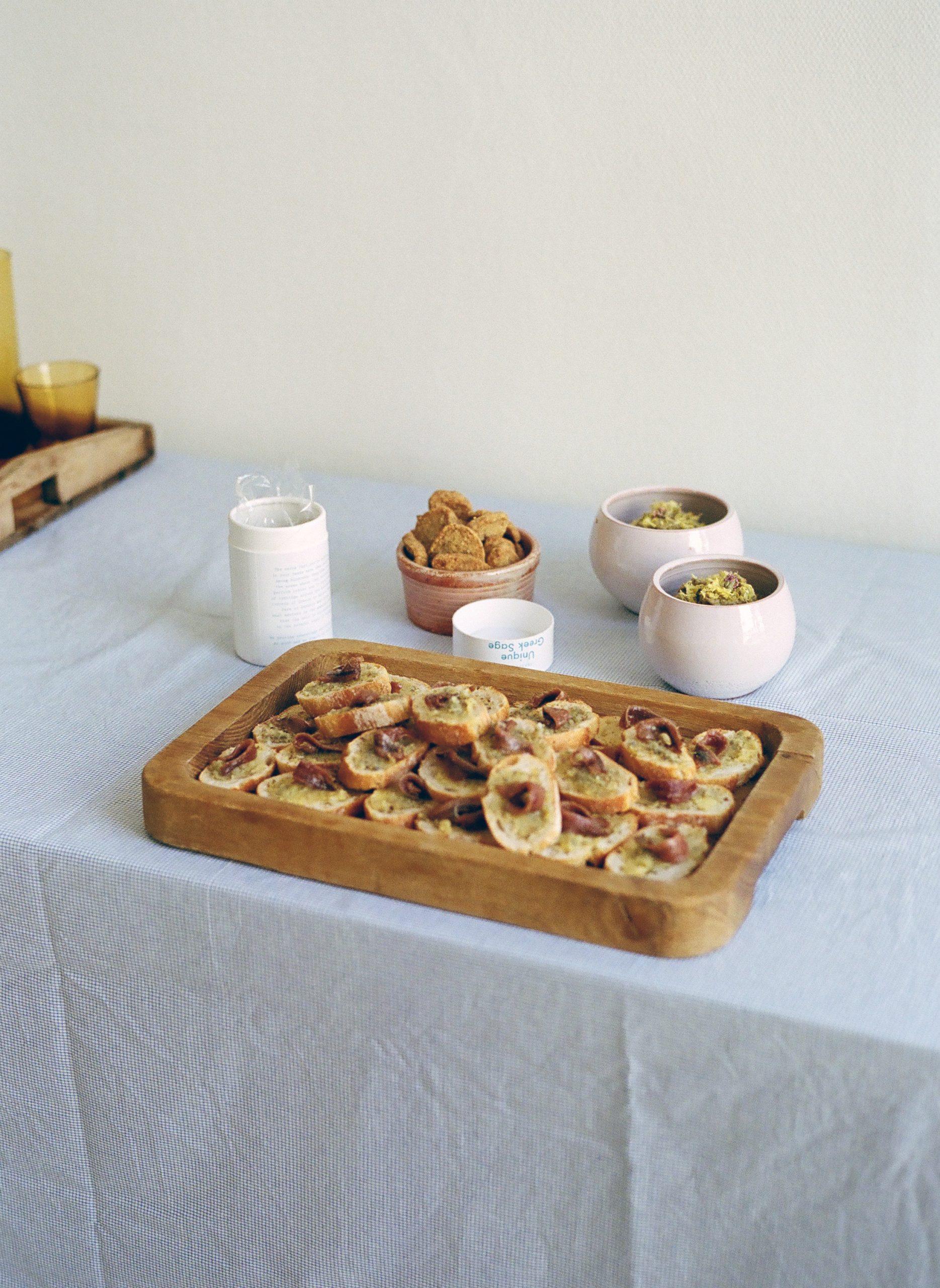 Sage Butter Crostini Recipe