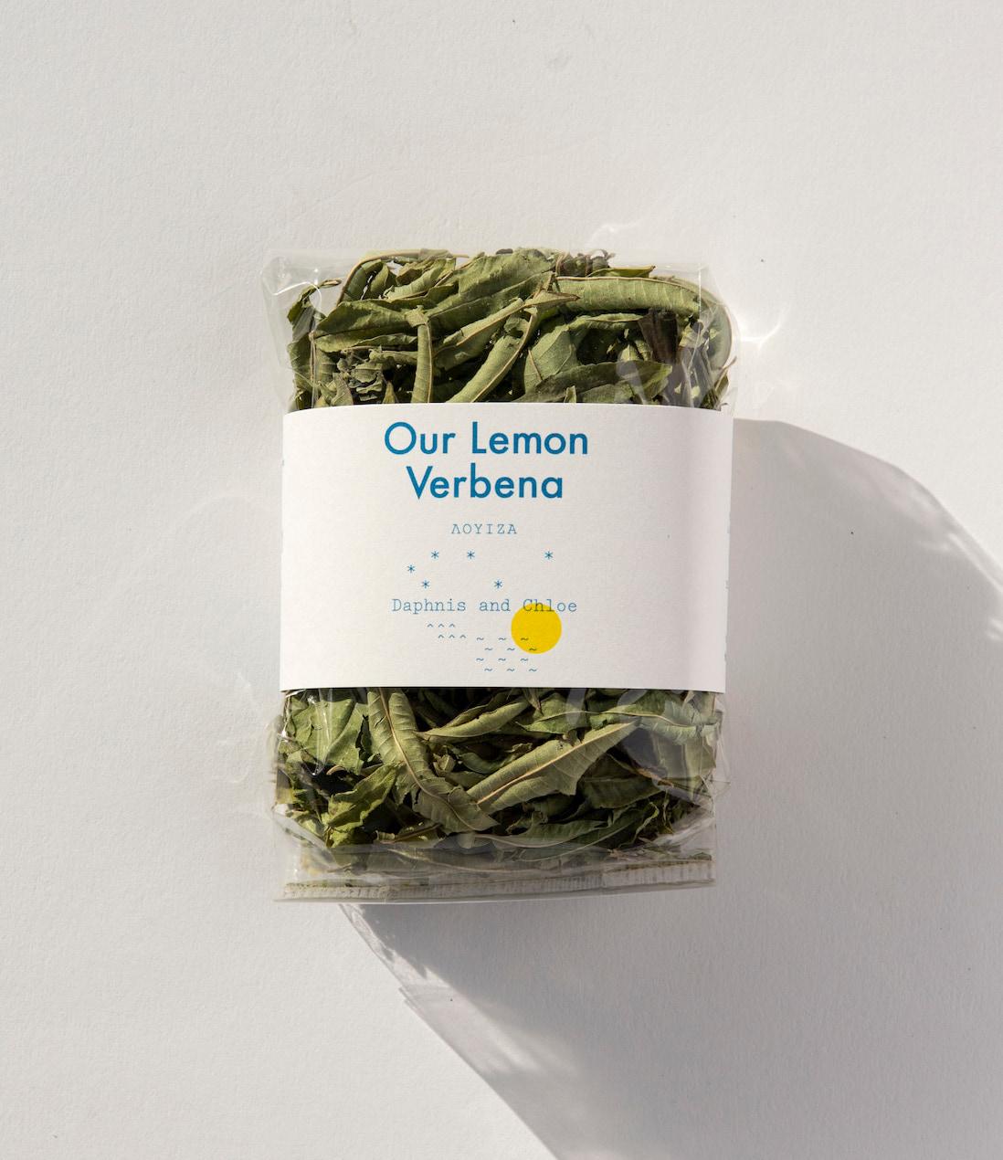 lemon verbena herbal tea organic product